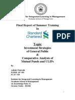 Final Report of Summer Training