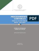 Manual de Procedimientos Contables para el  Sector Público