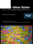 Better Ideas Faster