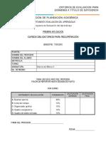 Criterio Para Examen de Historia de México II (1)