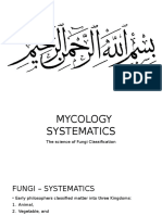 Mycology Systematics - Fungi Classification