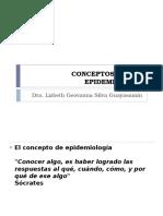 Conceptos y Usos Epidemiologia Curso Iess