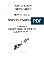 Notary Complaint Guide