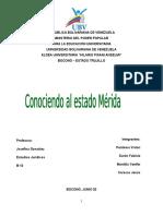 Historia Del Estado Mérida