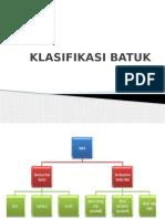 Klasifikasi Batuk