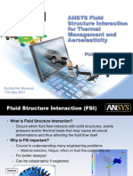 ANSYS FSI for Thermal Management and Aeroelasticity 11th May 2011.pdf