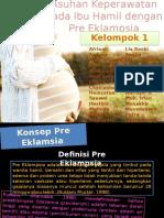 asuhan keperawatan ibu yang menderita preeklampsia
