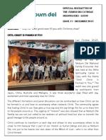 official newsletter of verbum dei luzon  no 17