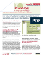 Neverfail - SQL Server Datasheet