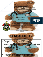 Rupture of Urinary Bladder Ppt