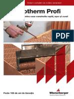 Catalog Porotherm Profi 2015