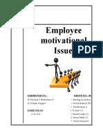 Motivation of organization behaviour