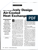 Air Cooler Design