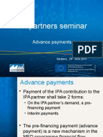 IPA Advance Payments