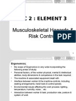 IGC2 Element 3 Muscluskeletal