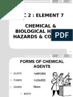 IGC2 Element 7 Chemical Biological