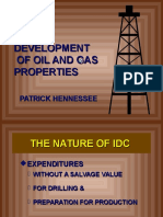 Development of Oil & Gas Properties