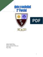 Sujeto y Sociedad Parcial 2 Eze