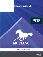 Copolyester Mustang Fabrication Guide Curbell