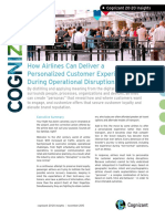 How Airlines Can Deliver a Personalized Customer Experience During Operational Disruptions