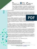 Documento Cuarto Encuentro REDCACCE 2015 1