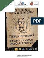 Pestiño Party 2015programa