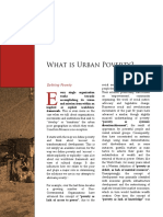 What is Urban Poverty