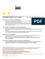 18 Endometriosis Research