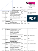 49. Cefi Solidaires - Catalogue de Formations Syndicales 2015-2016