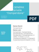 Obat Generik Domperidone.ppt