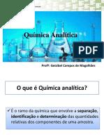 A Quimica Analitica - Aula 2