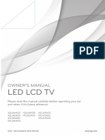 Manual de TV LG 42LM6700