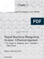 Designing and Developing HRMS