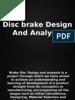 Brake Disk Analysis