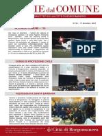 Notizie Dal Comune di Borgomanero del 17 Dicembre 2015