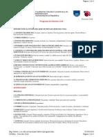 Derecho Civil Cceea - Programa