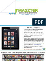 Magzter Publisher Presentation