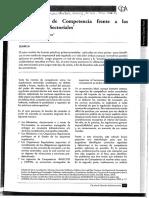 Agencia de Competencia Frente a Regulaciones Sectoriales