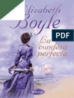 Viudas Standon 1 - La Condesa Perfecta -Elizabeth Boyle