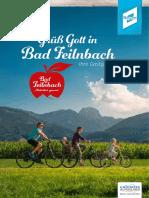 Gastgeberverzeichnis Bad Feilnbach 2016