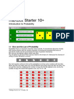 Dice and the Law of Probability
