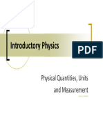 Introductoryphysics Physicalquantitiesandunits 100320151947 Phpapp01