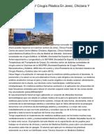 Medicina Estética Y Cirugía Plástica En Jerez, Chiclana Y Algeciras.
