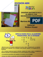 Ar3025_División Algoritmo ABN Nivel Básico