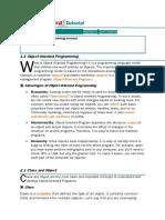 Java Tutorial Chapter 1