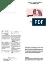 Sfa a Ed Review Sheet