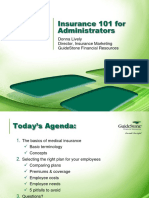 Insurance Guidestone for Administrators
