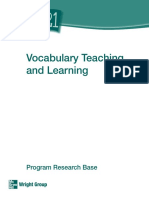 Research Base Vocabulary