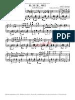 Flordelaire-Partitura