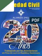 Revista Sociedad Civil, Trabajando por las Asociaciones  sin Fines de Lucro en República Dominicana.